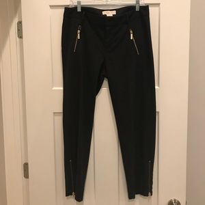 Michael Kors black ankle skinny's